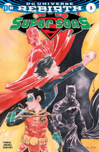 Image: Super Sons #3 (variant cover - Dustin Nguyen)  [2017] - DC Comics