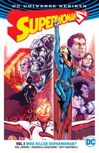 Image: Superwoman Vol. 01: Who Killed Superwoman? SC  - DC Comics