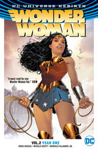 Image: Wonder Woman Vol. 02: Year One SC  - DC Comics