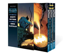 Image: Batman by Scott Snyder & Greg Capullo Vol. 4-6 Slipcased SC  - DC Comics