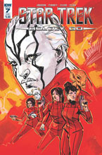 Image: Star Trek: Boldly Go #7 (subscription cover - Garry Brown) - IDW Publishing