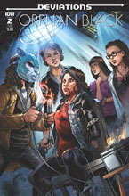 Image: Orphan Black: Deviations #2 (subscription cover - Fico Ossio) - IDW Publishing