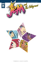 Image: Jem and the Holograms #26 (incentive cover - Sophie Campbell) (10-copy) - IDW Publishing