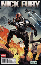 Image: Nick Fury #1 (Stroman variant cover - 00141) - Marvel Comics
