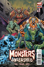 Image: Monsters Unleashed #1 [2017] - Marvel Comics
