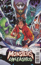 Image: Monsters Unleashed #1 (Silva variant cover - 00131)  [2017] - Marvel Comics