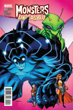 Image: Monsters Unleashed #1 (Barberi variant cover) - Marvel Comics