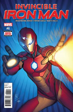 Image: Invincible Iron Man #6 [2017] - Marvel Comics