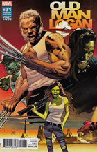 Image: Old Man Logan #21 (Land Past Lives variant cover - 02131)  [2017] - Marvel Comics