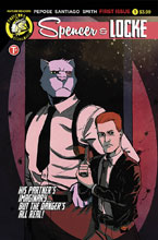 Image: Spencer & Locke #1 (cover A - Jorge Santiago, Jr.) - Action Lab - Danger Zone