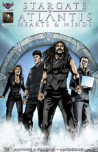 Image: Stargate Atlantis: Hearts & Minds #1 (main cover - Larocque)  [2017] - American Mythology Productions