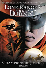 Image: Lone Ranger / Green Hornet: Champions of Justice SC  - Dynamite