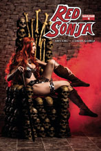 Image: Red Sonja Vol. 04 #4 (cover C - Cosplay Photo variant)  [2017] - Dynamite