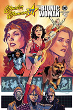 Image: Wonder Woman '77 Meets the Bionic Woman #5 (cover B - Jimenez) - Dynamite