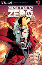 Image: Generation Zero #9 (cover A - Lafuente) - Valiant Entertainment LLC
