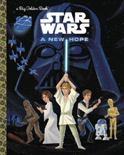 Image: Star Wars: A New Hope Big Golden Book HC  - Random House Books For Young R