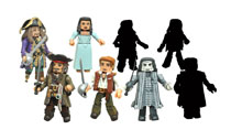 Image: Pirates of the Caribbean: Dead Men Tell No Tales Minimates Assortment  - Diamond Select Toys LLC