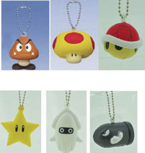 Image: Super Mario Bros. Soft Squeeze Mascot Blind Mystery Box Display  - Gashapon
