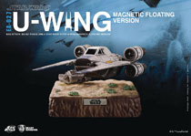 Image: Star Wars: Rogue One Action Figure - EAA-027 U-Wing  (Magnetic Floating V) - Beast Kingdom