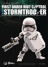 Image: Star Wars E7 Action Figure: EAA-015R Riot Control Stormtrooper  - Beast Kingdom