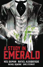 Image: A Study in Emerald HC  - Dark Horse Comics