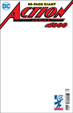 Image: Action Comics #1000 (variant cover - Blank) - DC Comics