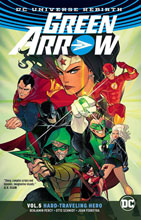Image: Green Arrow Vol. 05: Hard-Traveling Hero SC  - DC Comics
