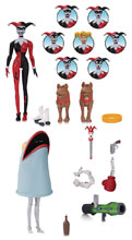 Image: Batman the Animated Series Harley Quinn Expressions Pack  - DC Comics