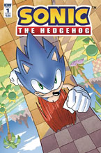 Image: Sonic the Hedgehog #1 (cover A - Hesse) - IDW Publishing