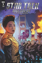 Image: Star Trek: Discovery: Succession #1 (cover A - Hernandez) - IDW Publishing