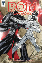Image: Rom & the Micronauts #5 (incentive cover - David Messina) (10-copy) - IDW Publishing