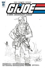 Image: G.I. Joe: A Real American Hero #251 (incentive cover - Larry Hama) (10-copy) - IDW Publishing