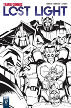 Image: Transformers: Lost Light #17 (incentive cover - Alex Milne) (10-copy) - IDW Publishing