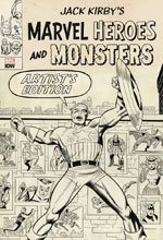 Image: Jack Kirby's Marvel Heroes and Monsters Artist's Edition HC  - IDW Publishing