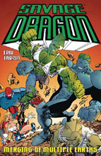 Image: Savage Dragon: Merging of Multiple Earths SC  - Image Comics