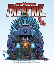 Image: Atomic Frenchie Vol. 01: Sit Stay Rule GN  - Insight Comics