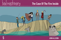 Image: Bad Machinery Pocket Edition Vol. 05: Case Fire Inside GN  - Oni Press Inc.