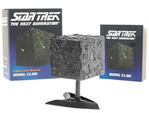 Image: Star Trek: The Next Generation Light-and-Sound Borg Cube  - Running Press