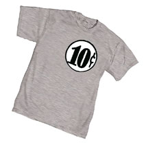 Image: Ten Cents T-Shirt  (S) - Graphitti Designs