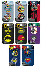 Image: DC Heroes 144-Piece Button Assortment  - Concept One Accessories