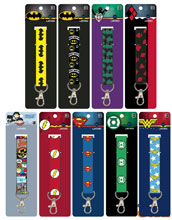 Image: DC Heroes 144-Piece Lanyard Assortment  - Concept One Accessories