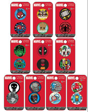 Image: Marvel Heroes 144-Piece Button Assortment  - Concept One Accessories