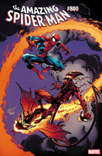 Image: Amazing Spider-Man #800 (variant cover - Bagley) - Marvel Comics