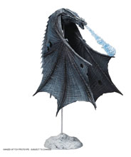 Image: Game of Thrones Viserion Ice Dragon Deluxe Action Figure Case  - Tmp Toys / Mcfarlane's Toys