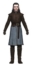 Image: Game of Thrones 6-Inch Arya Stark Action Figure Case  - Tmp Toys / Mcfarlane's Toys