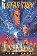 Image: Star Trek: Year Five #1 - IDW Publishing