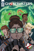 Image: Ghostbusters 35th Anniversary: Answer Call Ghostbusters  (main cover - Gallant) - IDW Publishing