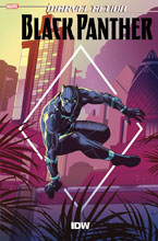 Image: Marvel Action: Black Panther #4 (main cover - Florean) - IDW Publishing