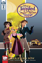 Image: Tangled: The Series: Hair and Now #2 (main cover - Disney) - IDW Publishing