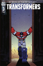 Image: Transformers #3 (cover A - Roche) - IDW Publishing